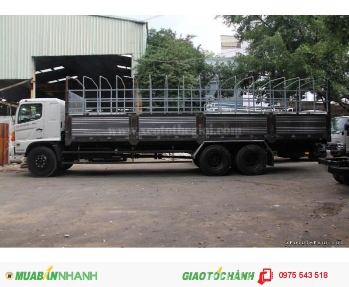 Xe tải Hino 3 chân FL8JTSA thùng mui bạt 16 Tấn 2