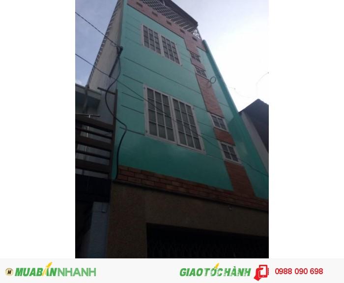 Bán nhà hxh Chấn Hưng, Phường 6, Tân Bình . DT3,6x11m