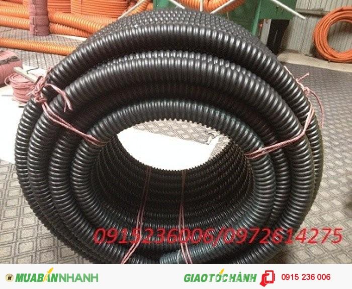 Phân phối ống nhựa gân xoắn HDPE luôn dây điện phi 90/701
