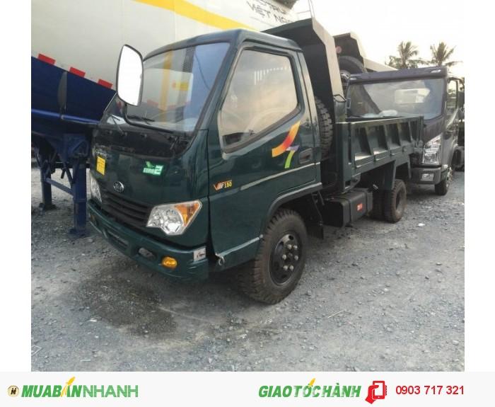 Giao xe ben Veam 1.5 tấn VB150 trong ngày giá tốt nhất khu vực