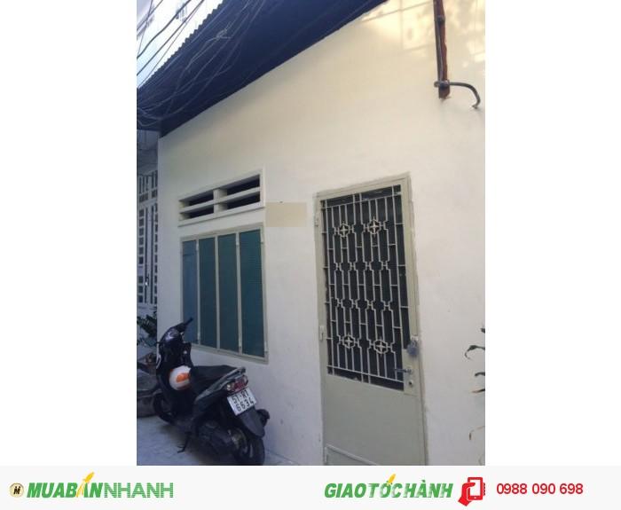 Bán nhà hẻm 3m Trường Sa, P.13, Phú Nhuận. DT 4.25x14.3m