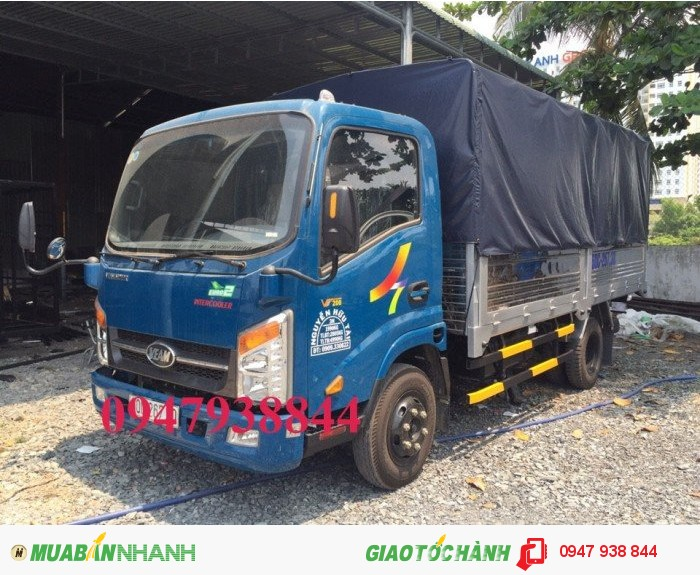 Xe tải Veam VT200 2 tấn đi thành phố đời 2016