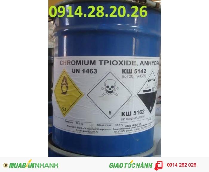 Bán Axit-Cromic-CrO3-(Acid-Chromic) Giá Cạnh Tranh nhất1