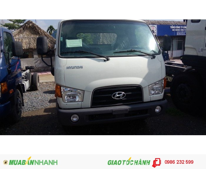Giá xe tải hyundai hd99 bao biển số