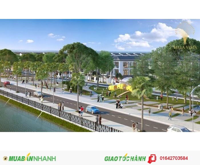 Đất nền khu đô thị sinh thái 5 sao bella vista siêu hot giá 79 triệu duy nhất ngày 5/6 ck, 5%