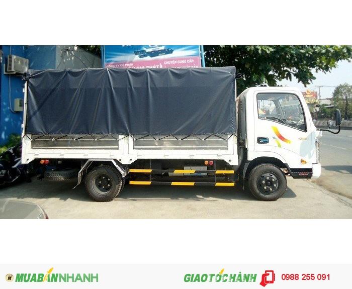 Xe veam vt200 , thùng dài 4.3m chạy đường thành phố , hỗ trợ vay lãi thấp , giá trọn gói 0