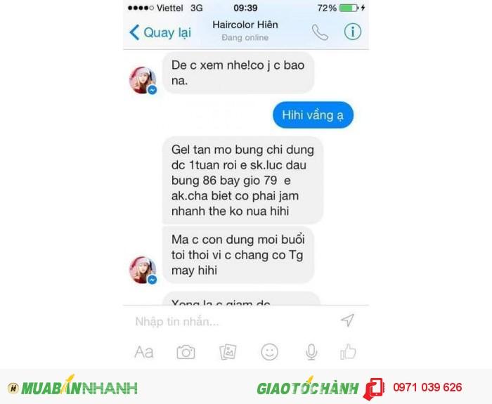 Gel tan mỡ Linh Nhâm1