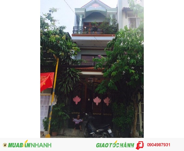 Bán nhà mặt tiền đường nhựa Hà Huy Giáp ngã tư Ga