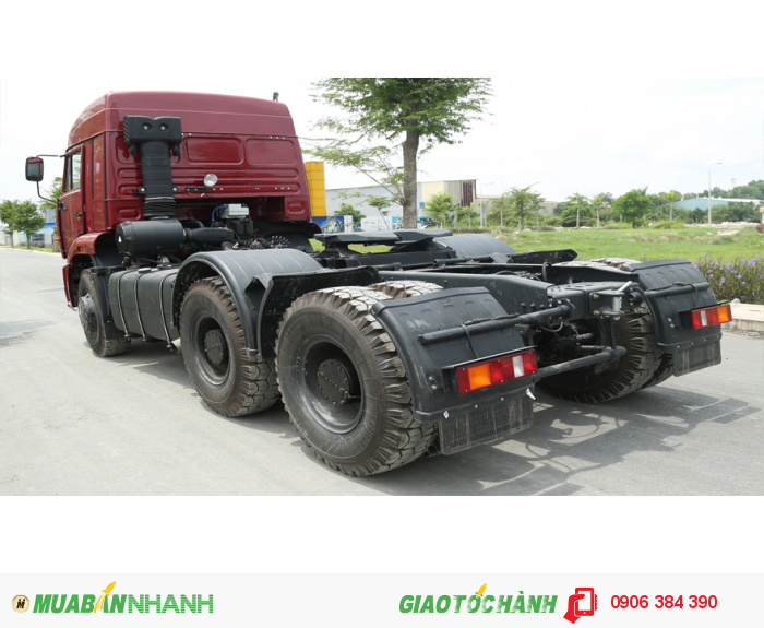 Công ty chuyên bán Xe đầu kéo Kamaz 6460 6x4 53 tấn công suất 360PS