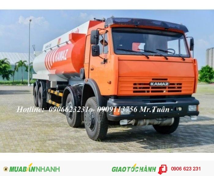Xe bồn Kamaz 23m3 | Bán xe bồn xăng dầu Kamaz 23m3 | Xe xăng dầu Kamaz 23m3 (Bồn sắt) 0