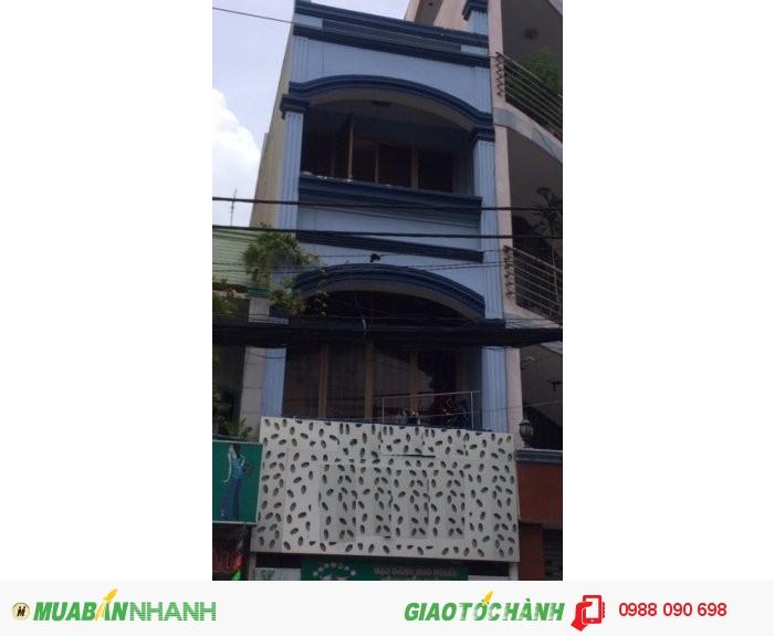 Bán nhà mặt tiền Huỳnh Văn Bánh, P.12, Phú Nhuận. DT 3x14.3m