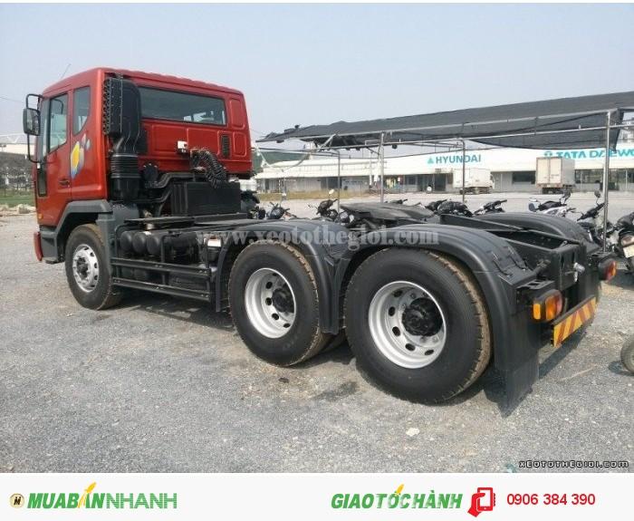 Tổng Đại Lý Đầu kéo Daewoo 2 cầu 340Ps-420Ps giao xe các tỉnh,GIÁ RẺ 2