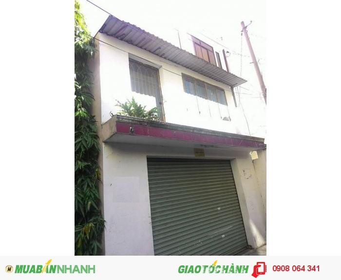 Bán nhà hẻm Lê Văn Sỹ, P.12, quận 3