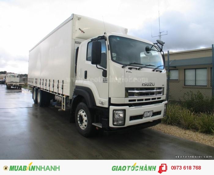 Isuzu FVM Số tay (số sàn) Xe tải động cơ Dầu diesel