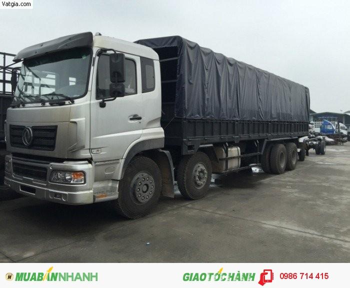 Xe tải thùng TRƯỜNG GIANG 19.1 Tấn (2 dí-2 cầu:8x4) đời 2015