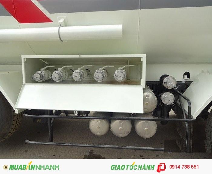 Xitec xăng dầu 10x4; 27m3; chenglong 2
