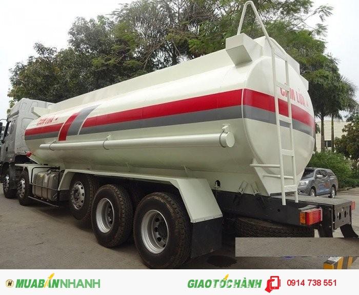 Xitec xăng dầu 10x4; 27m3; chenglong 1