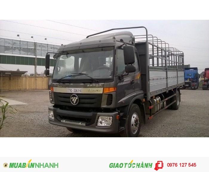 Bán xe tải c160 tải trọng 9 tấn, hỗ trợ ngân hàng 70%