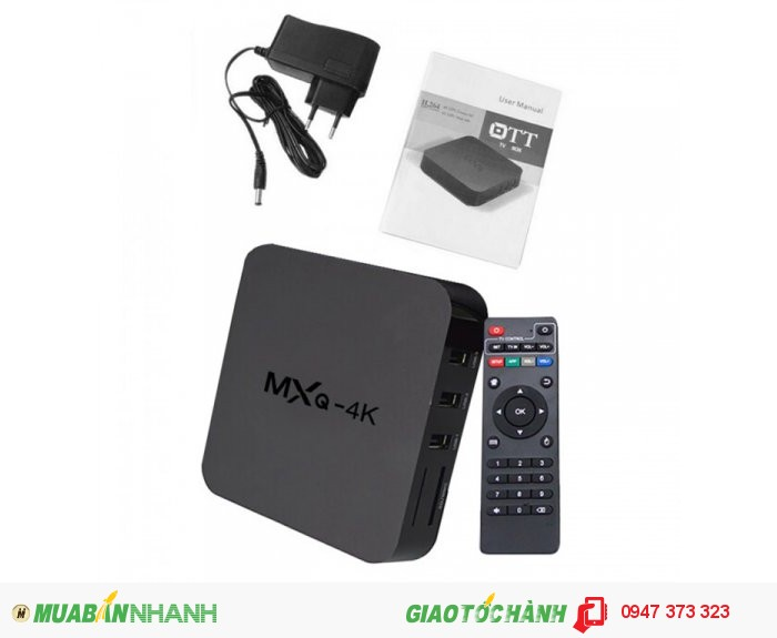 MXQ-4K Smart Android TV Box0