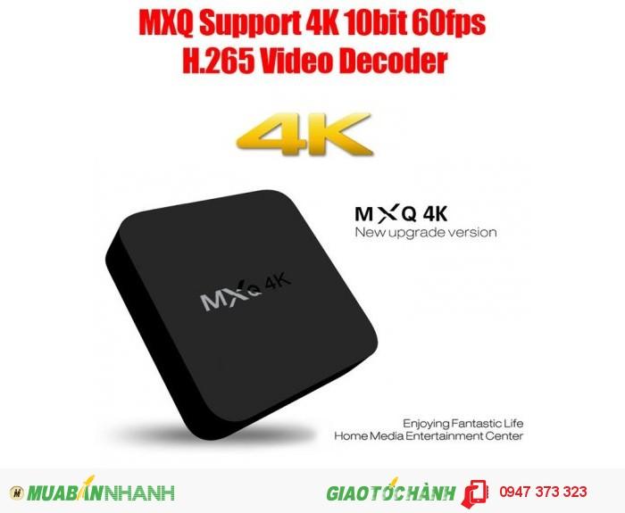 MXQ-4K Smart Android TV Box1