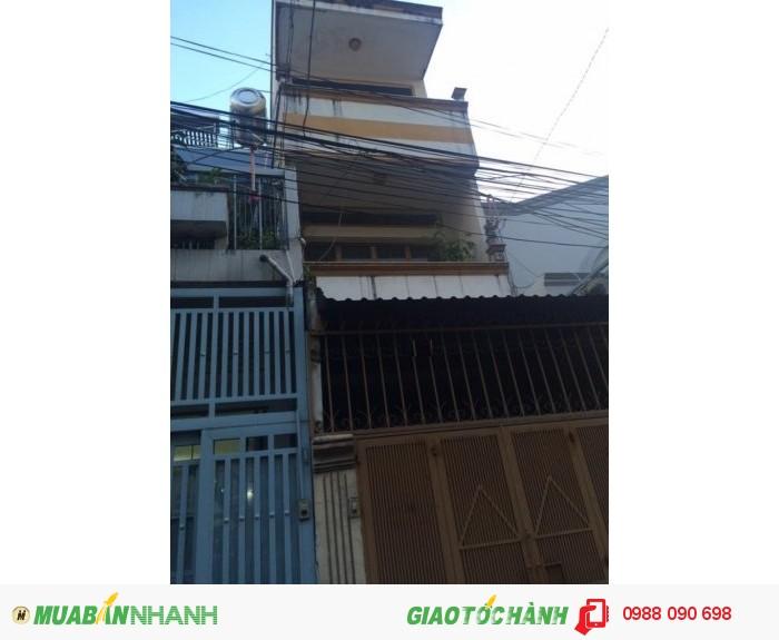 Bán nhà HXH Đặng Văn Ngữ, P14, Phú Nhuận. DT 3x16m