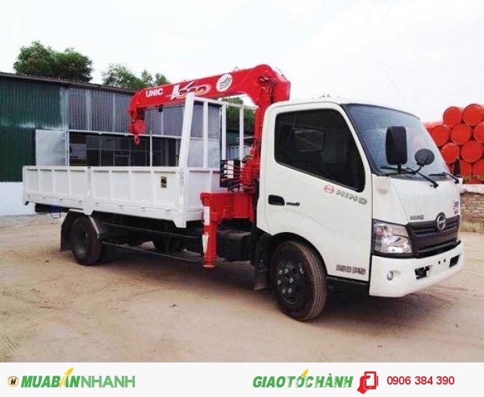 Bán Xe tải HINO XZU720 4,5T có gắn cẩu tại Miền nam,giá cạnh tranh 3
