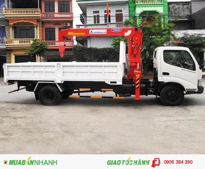 Bán Xe tải HINO XZU720 4,5T có gắn cẩu tại Miền nam,giá cạnh tranh 4