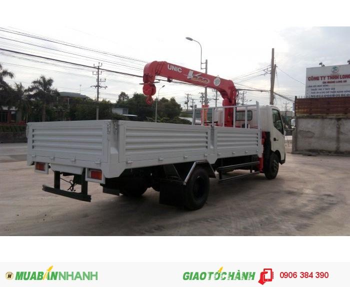 Bán Xe tải HINO XZU720 4,5T có gắn cẩu tại Miền nam,giá cạnh tranh 0