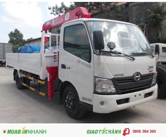 Bán Xe tải HINO XZU720 4,5T có gắn cẩu tại Miền nam,giá cạnh tranh 2
