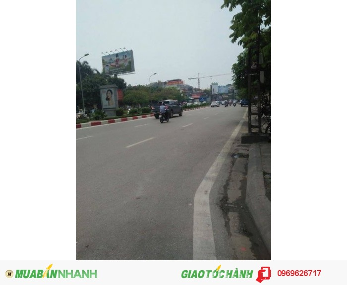 Bán nhà mặt phố Nguyễn Phong Sắc kd siêu việt 60m2 4t 4m mt hơn 16t có tl