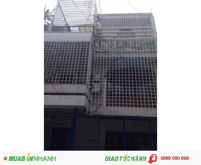 Bán nhà HXH 6m cư xá Nguyễn Đình Chiểu, P.4, Phú Nhuận. DT 6x12.5m