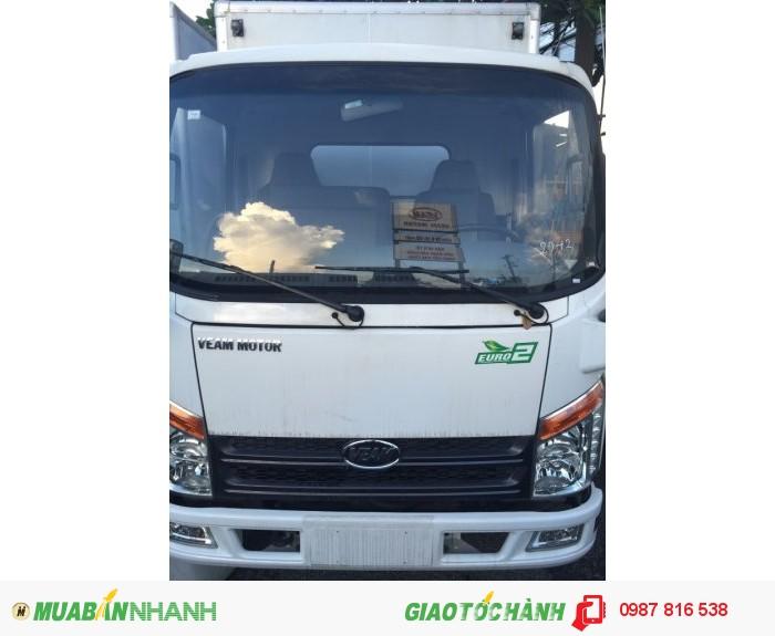 Xe tải veam 2t4 vào thành phố, xe tải veam vt252