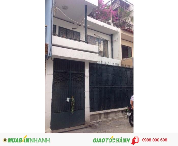 Bán nhà HXH 8m cư xá Nguyễn Đình Chiểu, P.4, Phú Nhuận. DT 6x12.5m