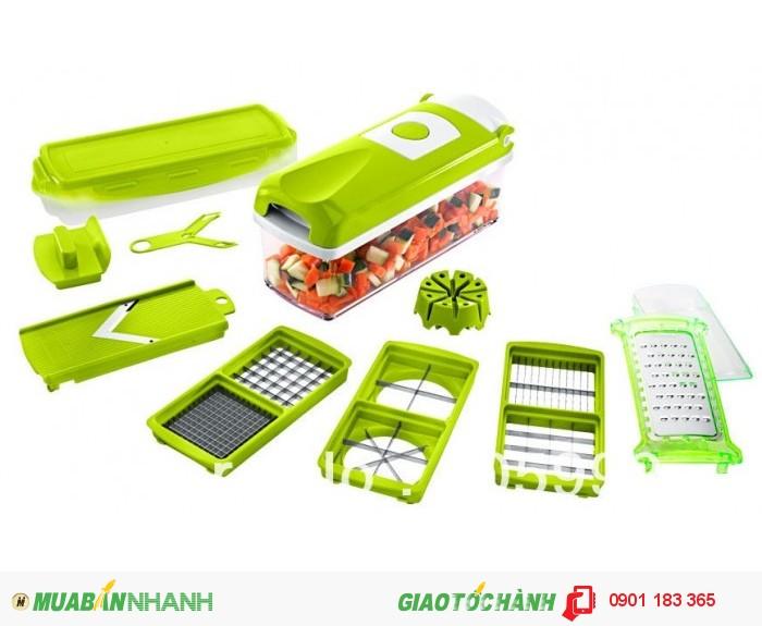 Sản phẩm được làm từ chất liệu nhựa và inox cao cấp, không chứa độc tố