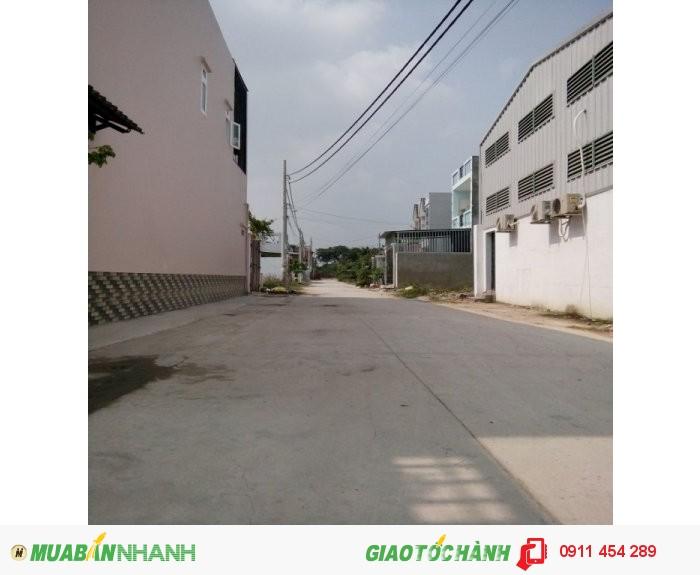 Đất sau chợ, UBND Thạnh Xuân 4.5x18m giá 890tr P. Thạnh Xuân Q12