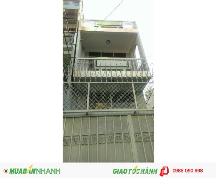 Bán Nhà Trần Huy Liệu ,phường 12, Phú Nhuận .diện Tích 3,5X18( Nở Hậu 4,1