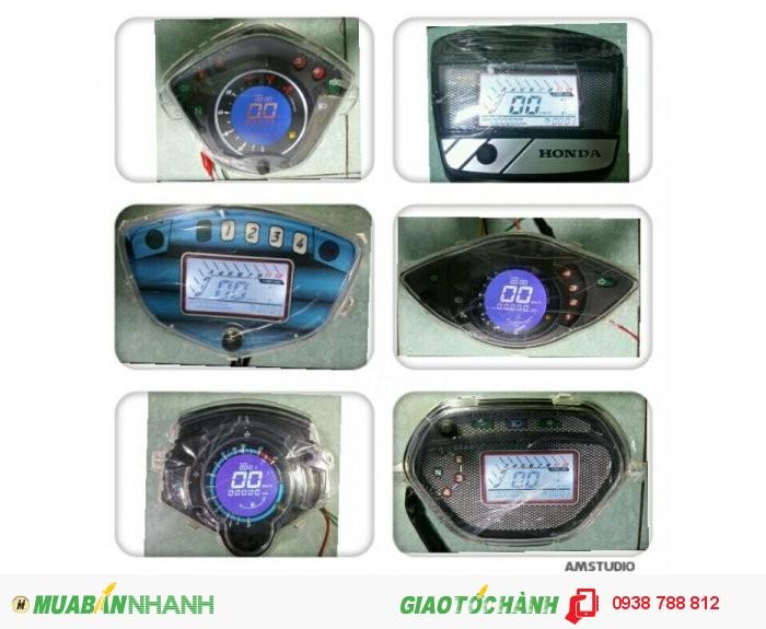 Đồng Hồ Điện Tử Led Cho Wave - S110 2