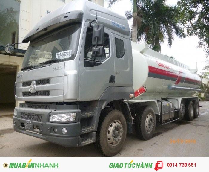 Xitec xăng dầu 10x4; 27m3; chenglong 3