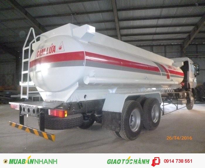 Xitec xăng dầu 6x4; 18m3; chenglong 1