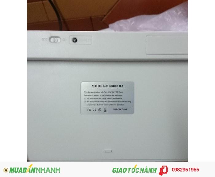 Bàn phím bluetooth for smart tv - smartphone - ipad - bk3001
