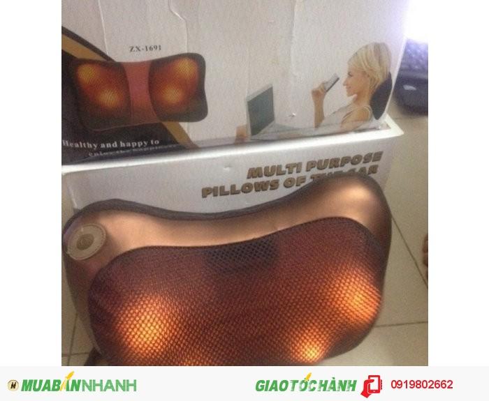 Gối mát-xa Car&Home Massage Pillow