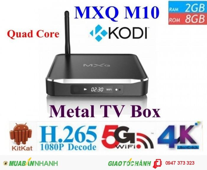 MXQ M10 Android TV Box Amlogic S812 Quad Core Ram 2GB1
