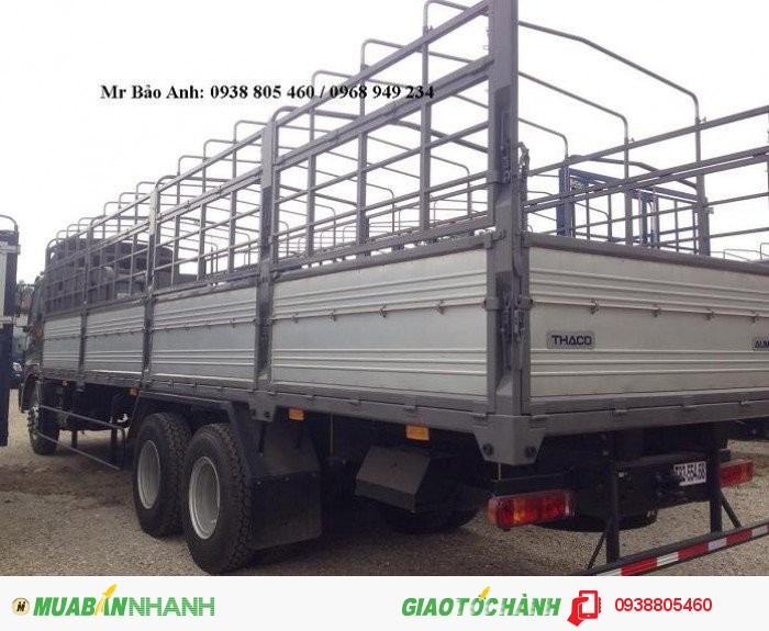 Bán xe Trường Hải 3 chân AUMAN C1400B. tải trọng 14 tấn, giá tốt