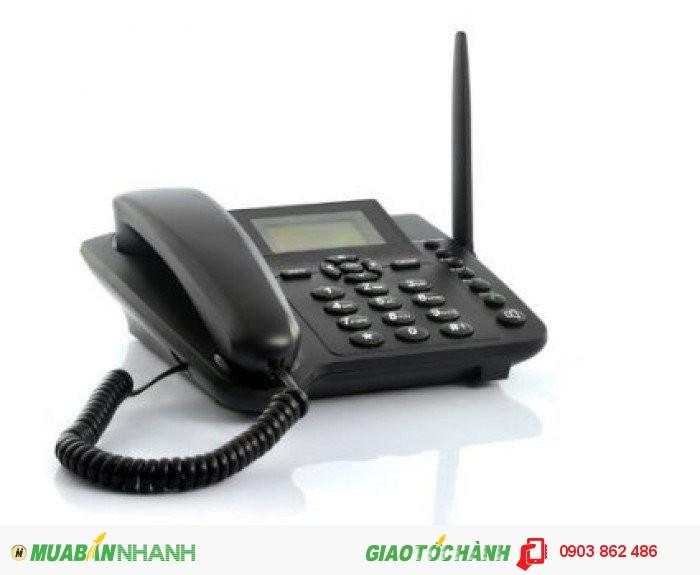Điện Thoại Bàn Homefone FWP6588 Sử Dụng Sim Gsm Mobi , Vina , Viettel , Beeline...0