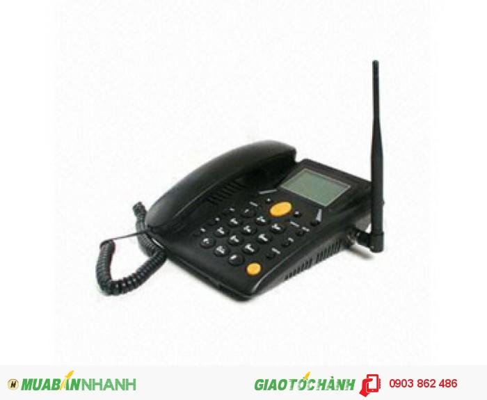 Điện Thoại Bàn Homefone FWP6588 Sử Dụng Sim Gsm Mobi , Vina , Viettel , Beeline...3
