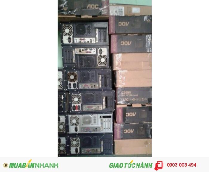 Vài chục bộ máy cấu hình từ  Core2 Dual  đến Core I3 giá rẻ0