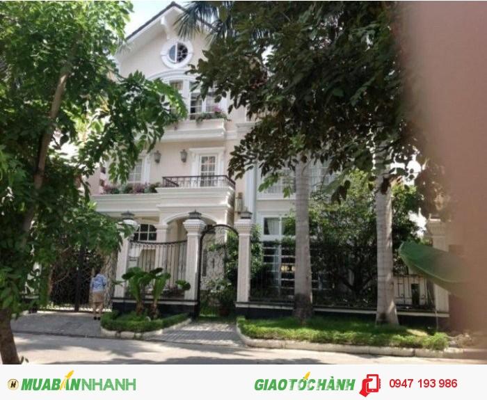 Bán biệt thự Thảo Điền  Q2.DTKV:345m².Gần bờ sông và công viên,giá : 24,5 tỷ.