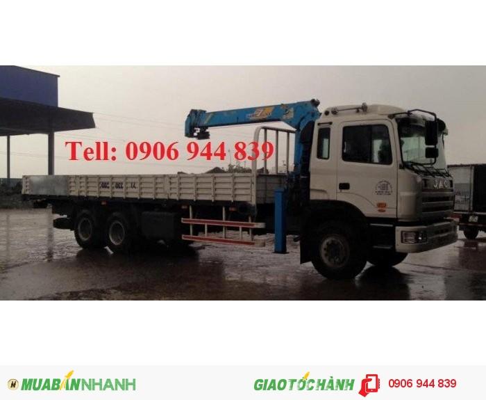 Đại lý bán xe tải 1 cầu , xe tải jac 1cầu tải trọng khi đóng cẩu 7T/7 tấn mới nhất 0