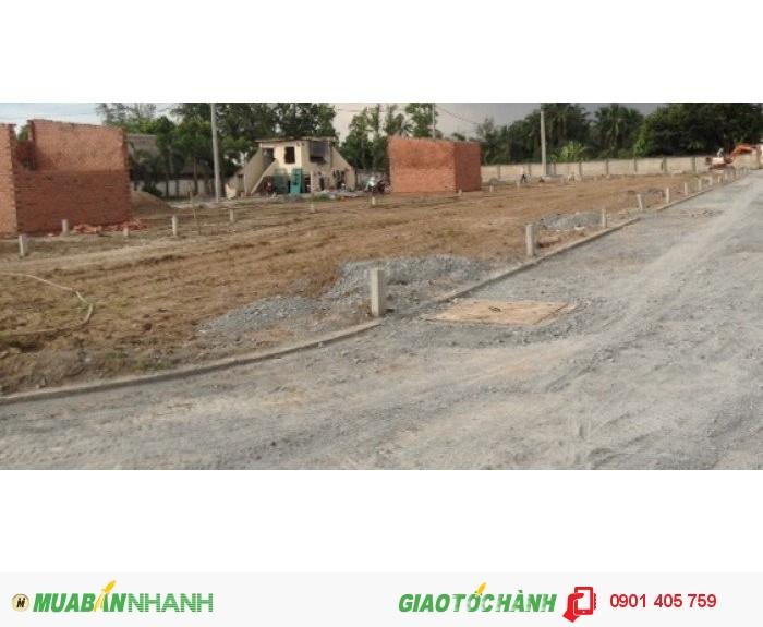 Đất mặt tiền đường 30m, sổ hồng riêng , có giấy phép xây dựng.