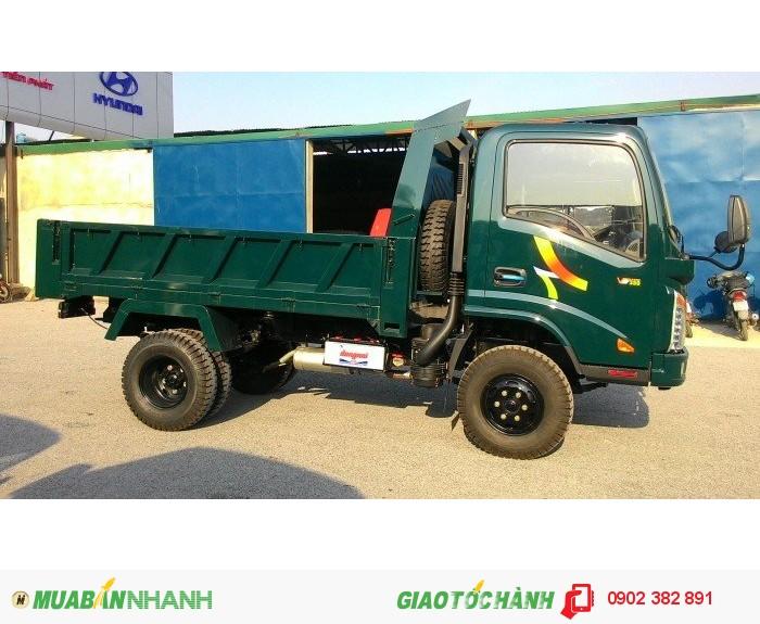 Xe tải ben Veam 3t5 VB350, Giá bán xe ben 3t5 Veam VB350 trả góp
